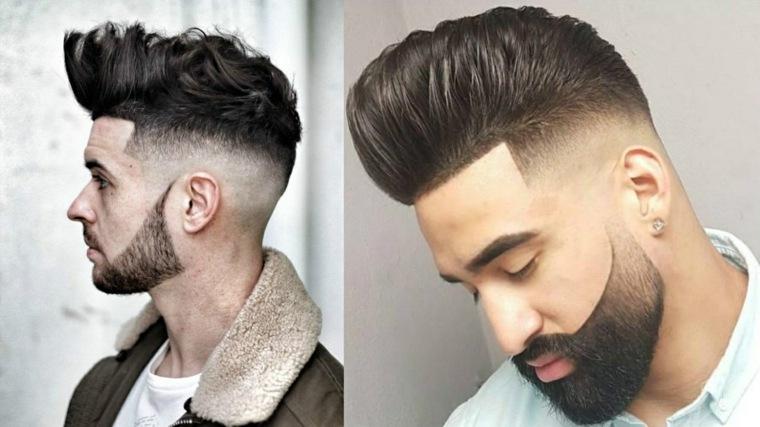 peinados y cortes de cabello masculidos