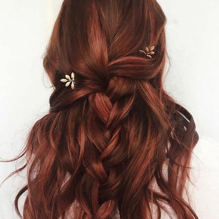 ideas para pelo rojo