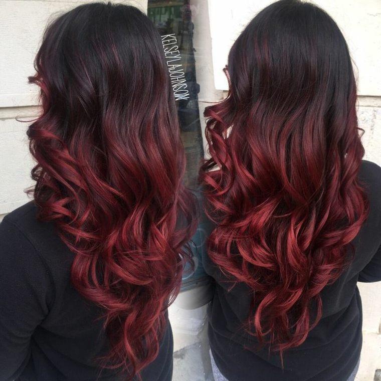 estilos para cabello rojo