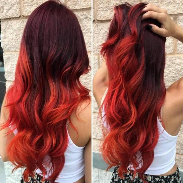 peinados y estilos con cabello rojo