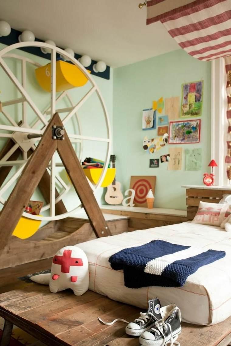 ideas para decorar habitaciones infantiles originales