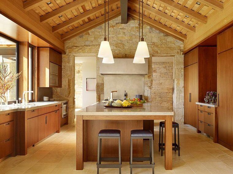piedra caliza paredes madera