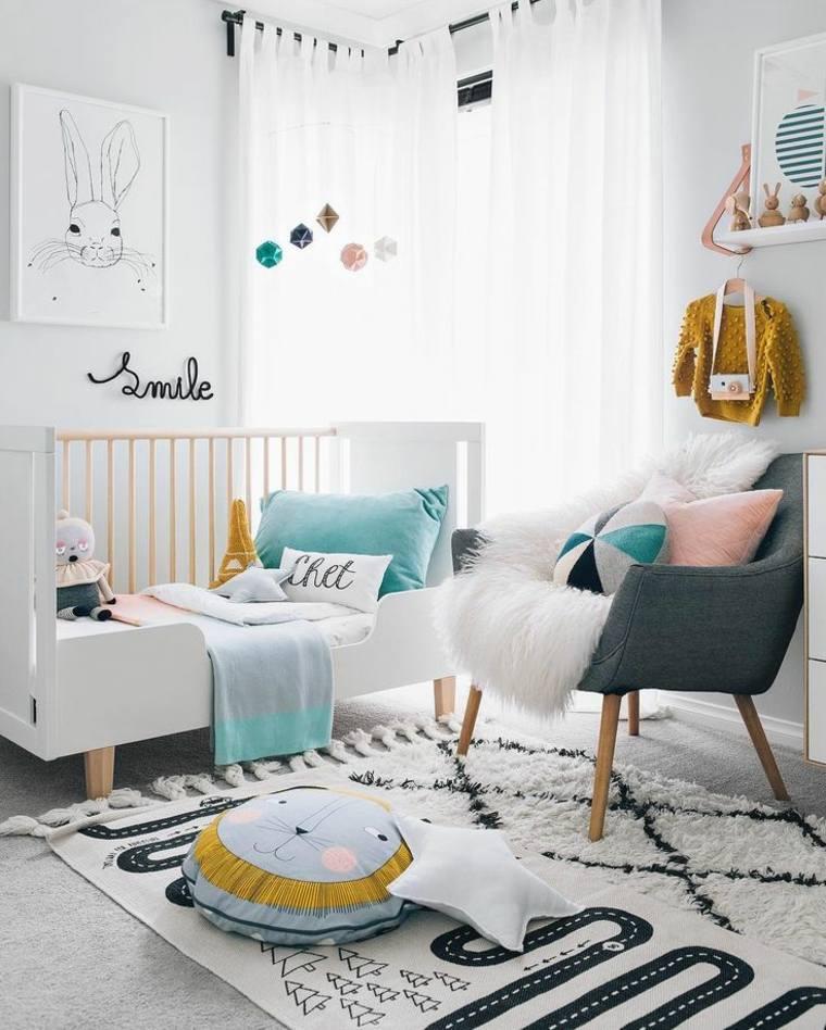 sencillas ideas para decorar dormitorios infantiles