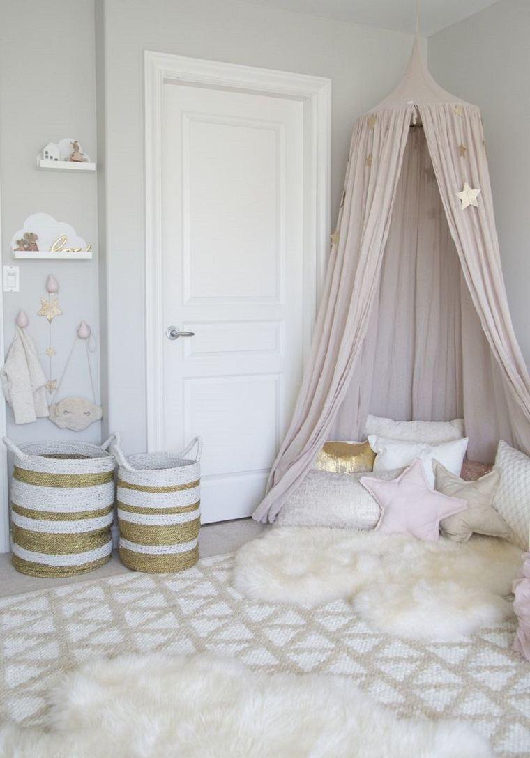ideas de dormitorios infantiles para niña