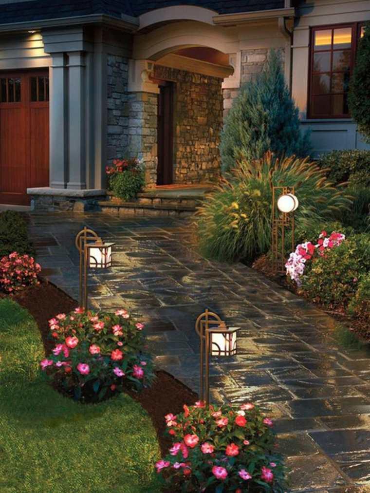 imágenes de jardines bonitos de Pinterest