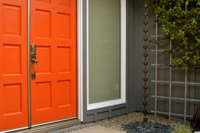 pintar puertas de colores