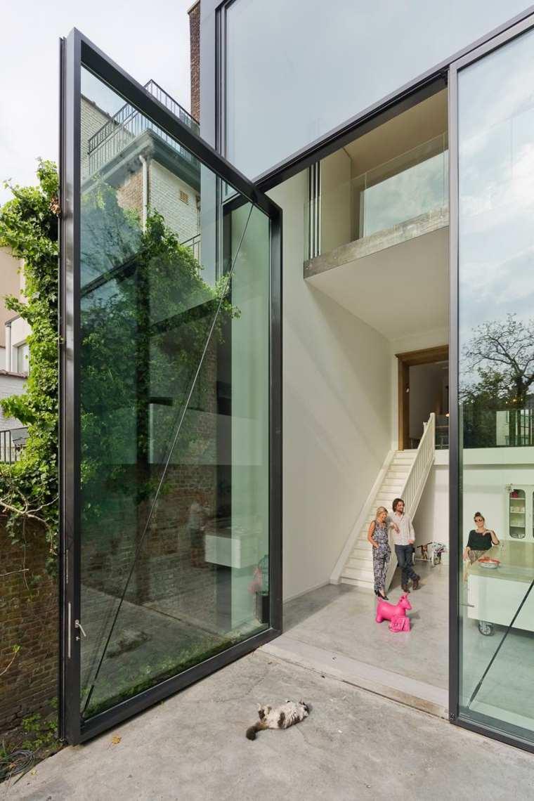 puertas diseño metalico exterior