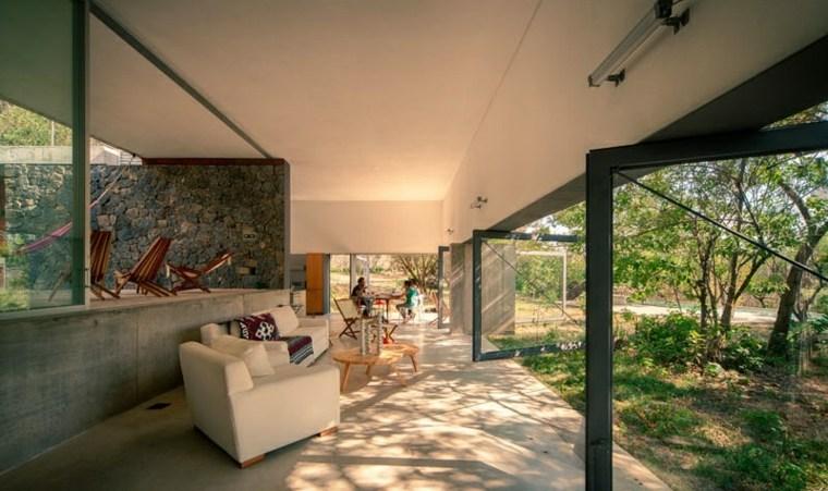 puertas diseño paisajes modernos