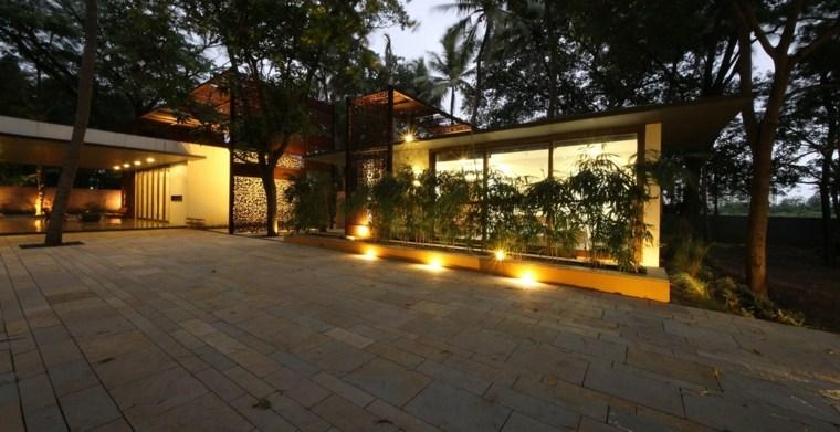 patio pavimentado