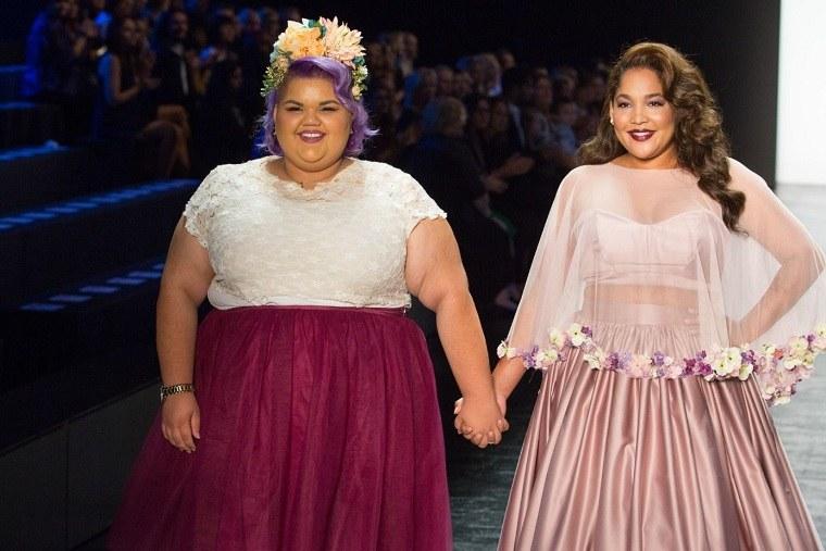 Ropa Tallas Grandes En La Semana De La Moda En Nueva York