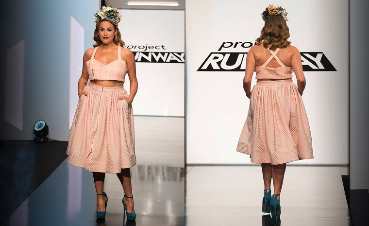 ropa-tallas-grandes-semana-moda-nueva-york-falda-top-rosa