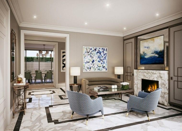 sala de estar moderna bonita