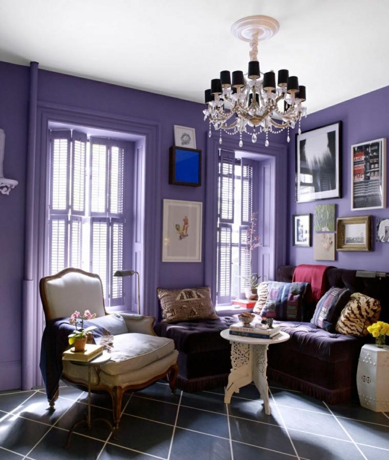 Salones peque os muebles dise o y decoraci n para crear un - Colores relajantes para salones ...