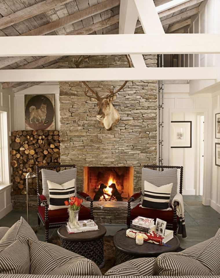 Salones peque os muebles dise o y decoraci n para crear un for Salones muy pequenos
