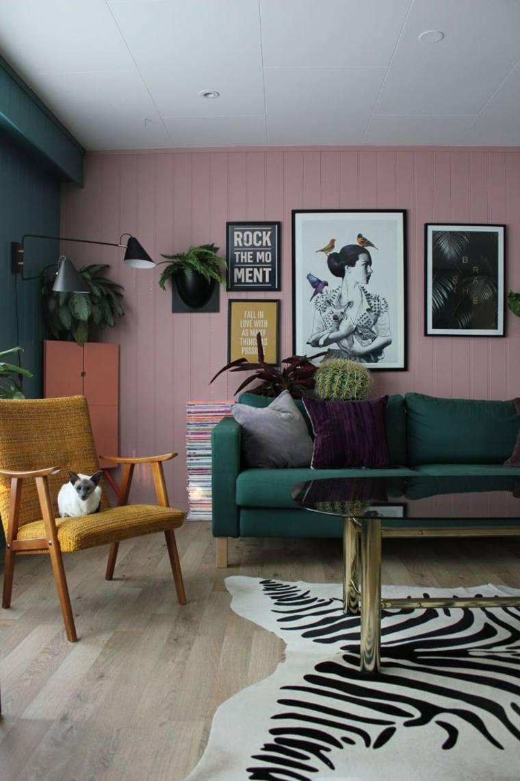 decoración de sala de estar moderna