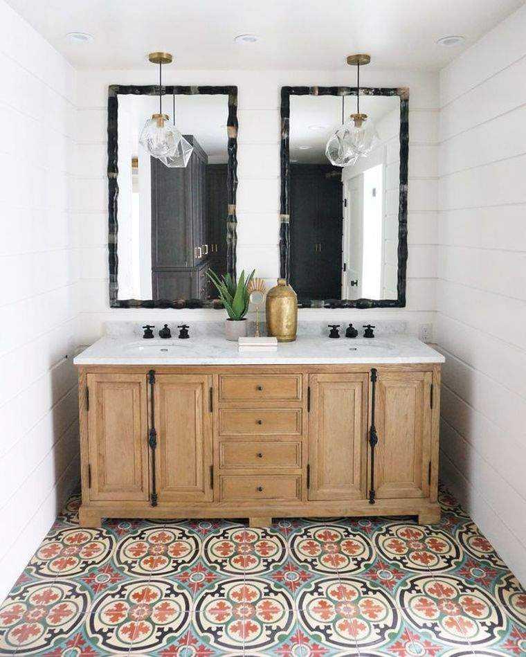 estupendo diseño de baño