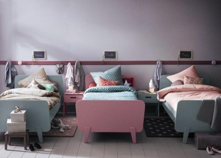 estupendas ideas para dormitorios infantiles compartidos