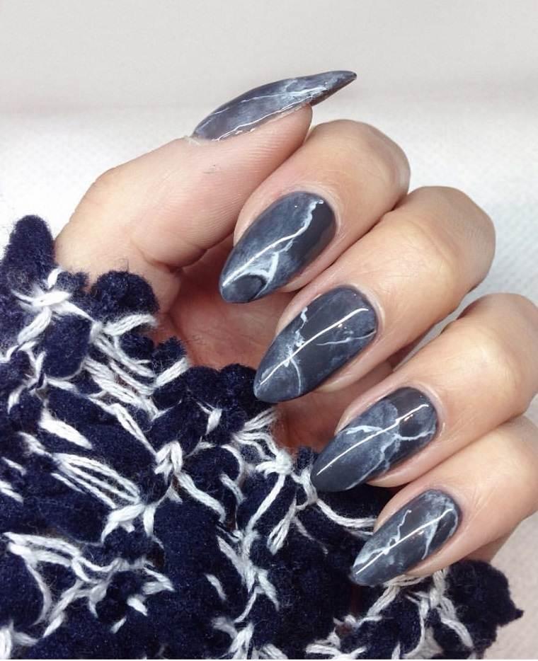 unas-decoradas-disenos-actuales-estilo-moderno-marmol-negro