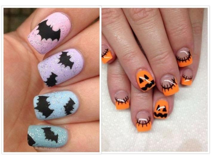 variantes uñas elegantes halloween