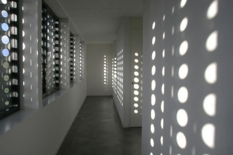 villa diseño efecto sombras interior