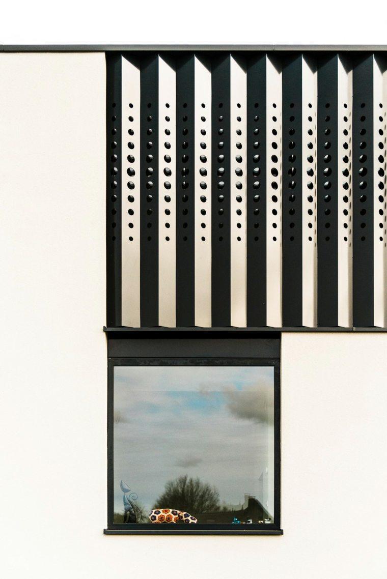 villa diseño fachada detalles