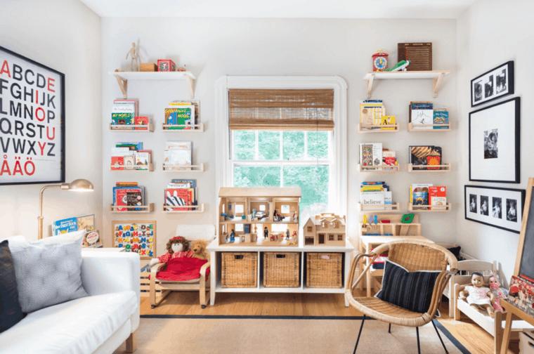 decorar las paredes de las habitaciones de los niños