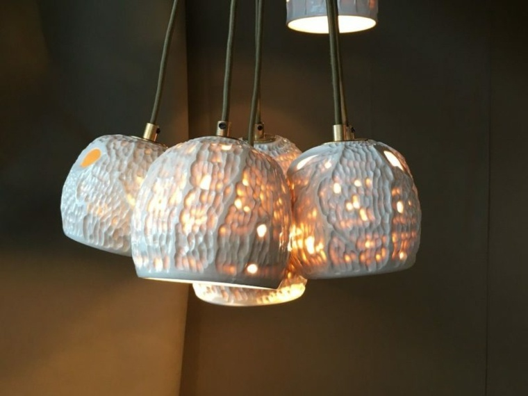 lámparas colgantes