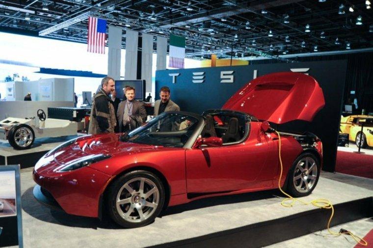 Tesla Roadster cabrio