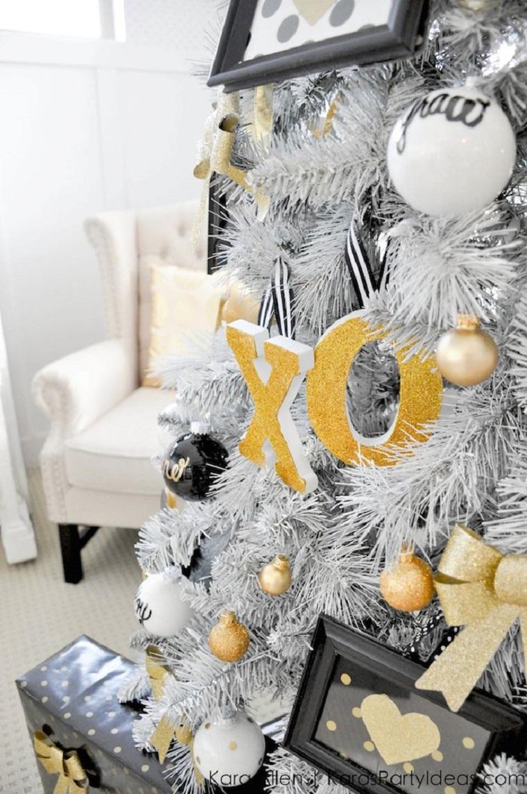 decoración navideña moderna