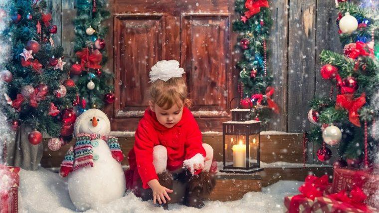 adornos de navidad para niños muneco