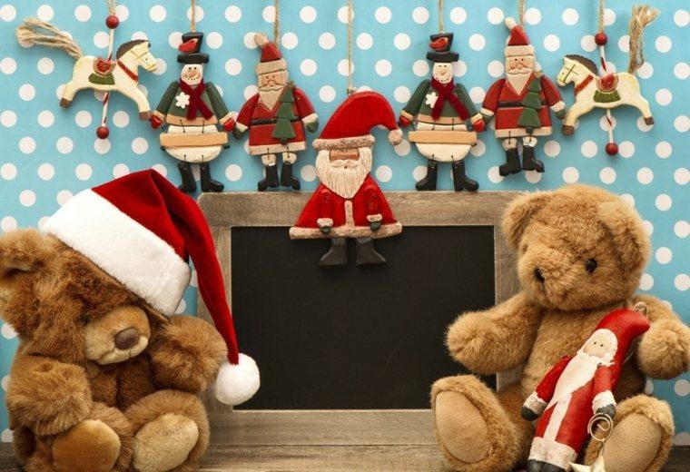 adornos de navidad para niños ositos