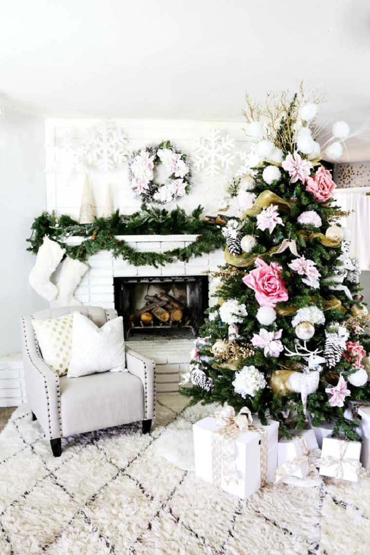preciosa decoración navideña