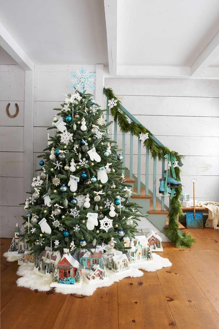 colores para la decoración navideña