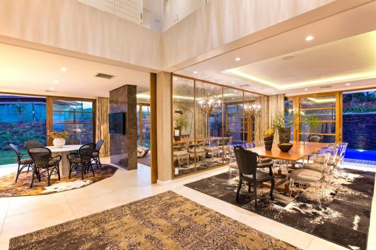 alfombras interiores elegantes modernas