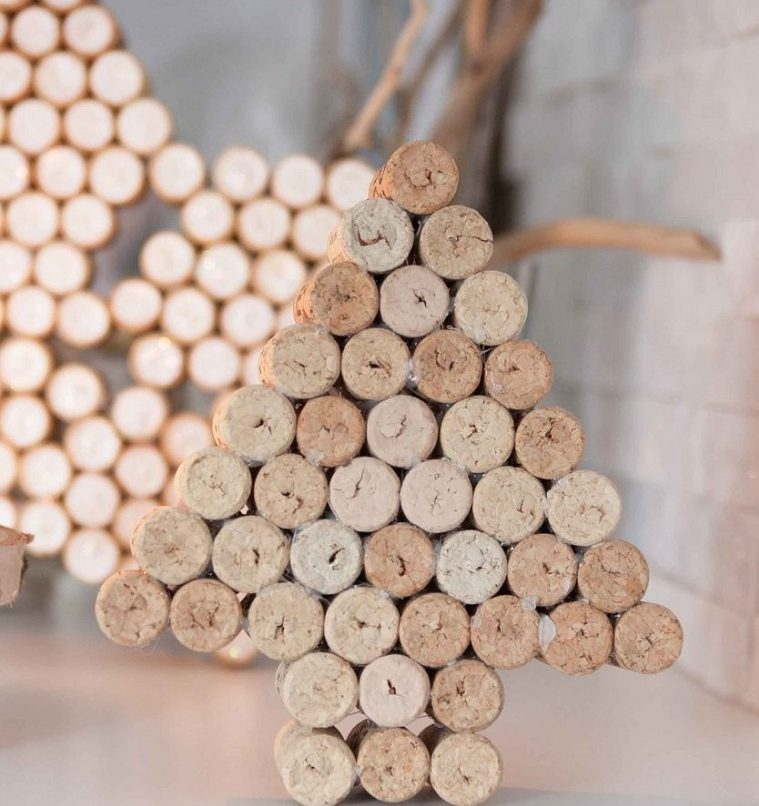 arbol-corcho-opciones-decoracion-casa-navidad