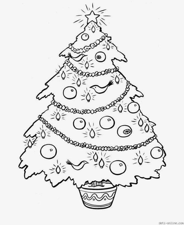 arbol-de-Navidad-con-oropel