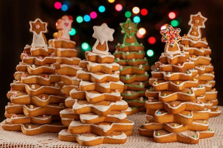 árbol de navidad casero de-galletas