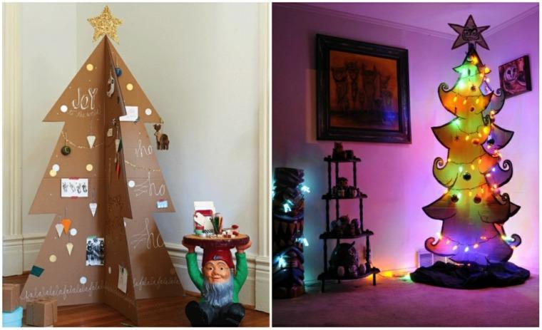 arbol-de navidad-de-cartón