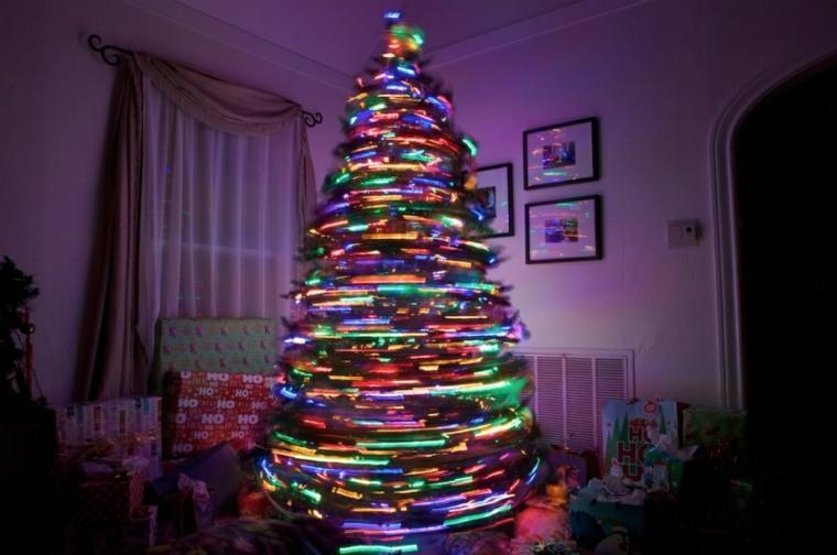arbol-de navidad-de-luces