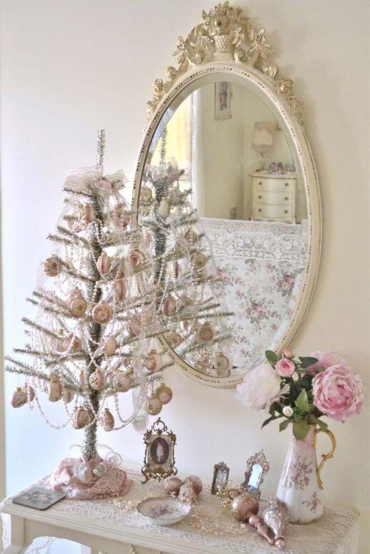 decoración navideña romántica