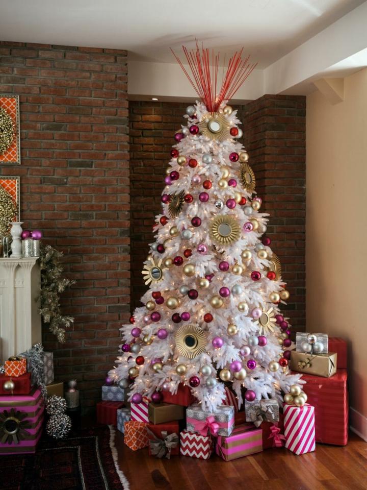 perfect arboles de navidad decorados rosa with arboles navidad decorados rboles de navidad decorados - Rboles De Navidad Decorados