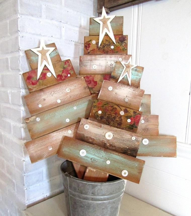 arboles-navidad-palets-reciclar-manualidades-navidad