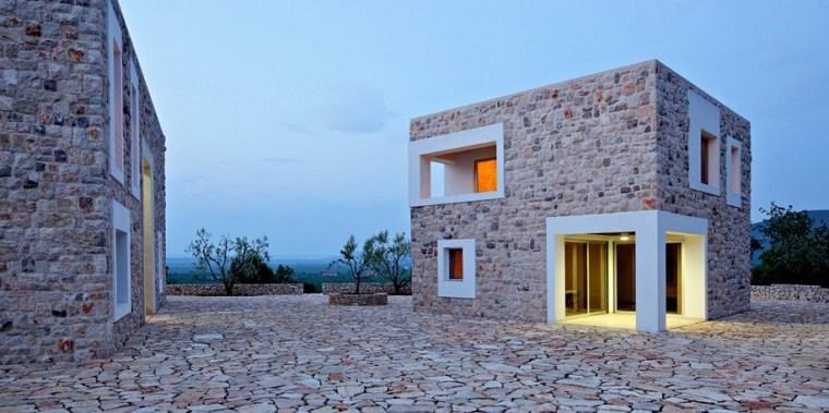 Casas de piedra pros y contras de las casas con fachadas - Piedra para exteriores casas ...