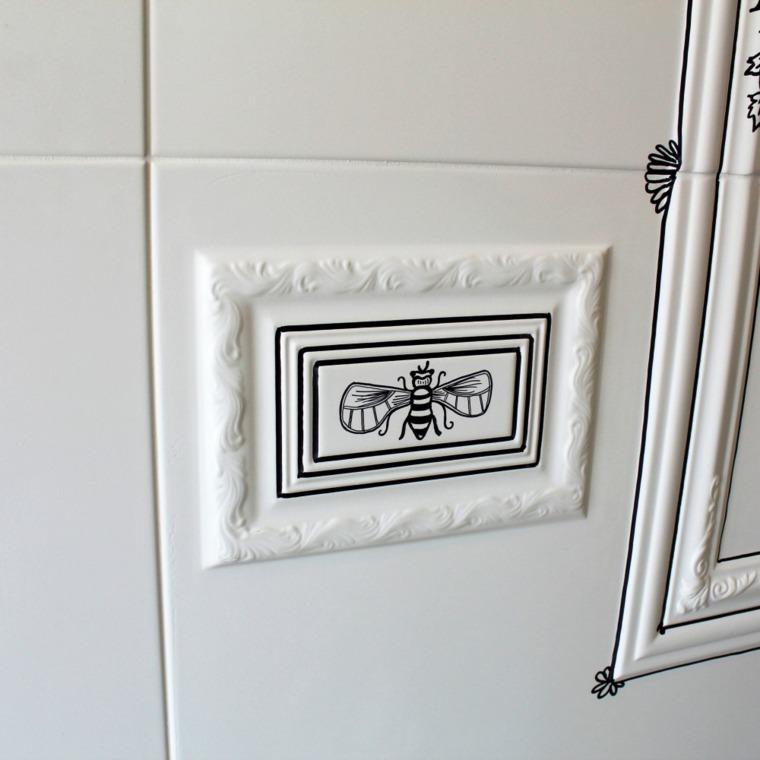 decoración de las paredes