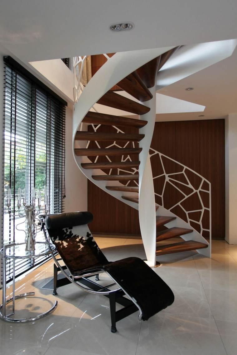 diseños de balaustradas modernas para interiores