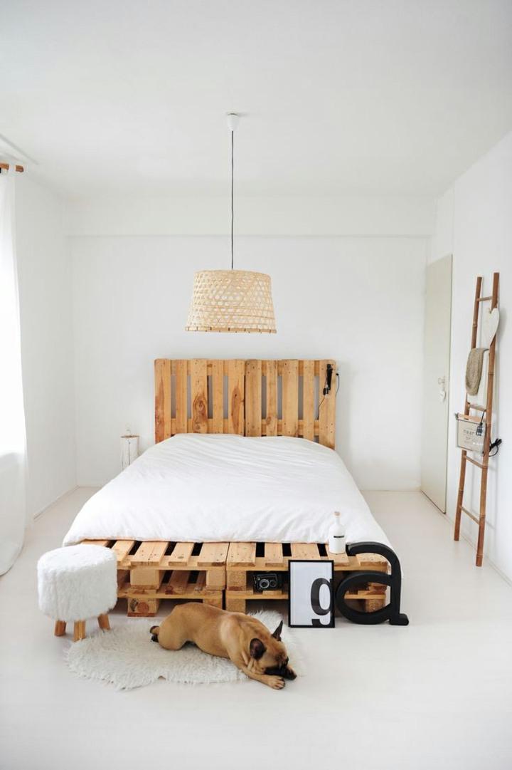 base madera interiores cama