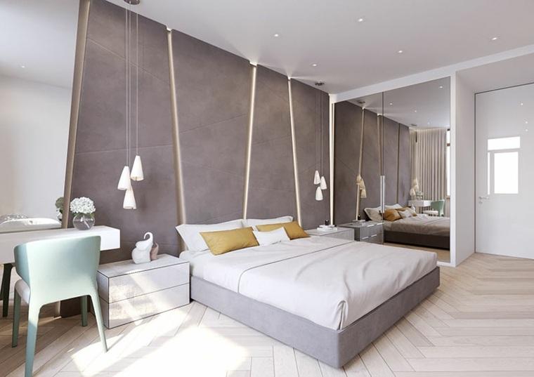 base moderna cuero paredes