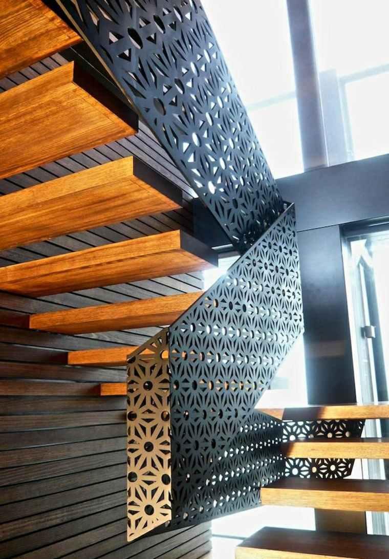 balaustradas modernas para interiores