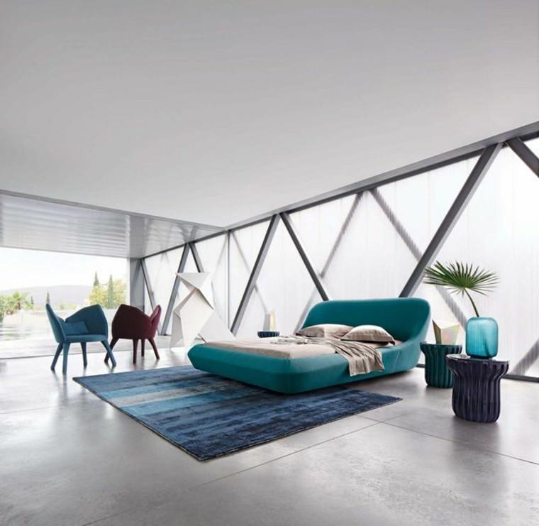 cama turquesa