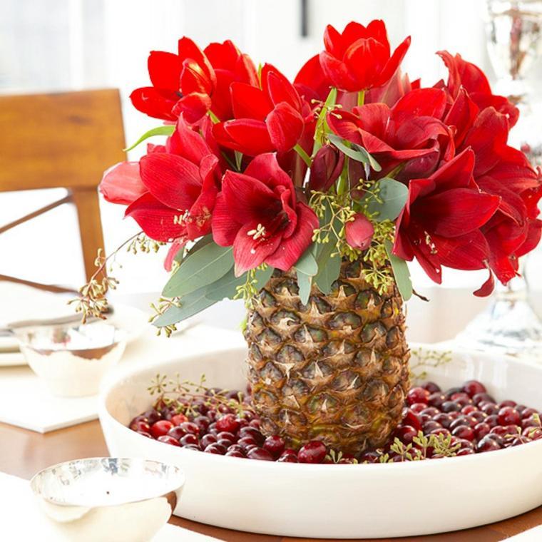 bonitos centros de mesa de flores naturales